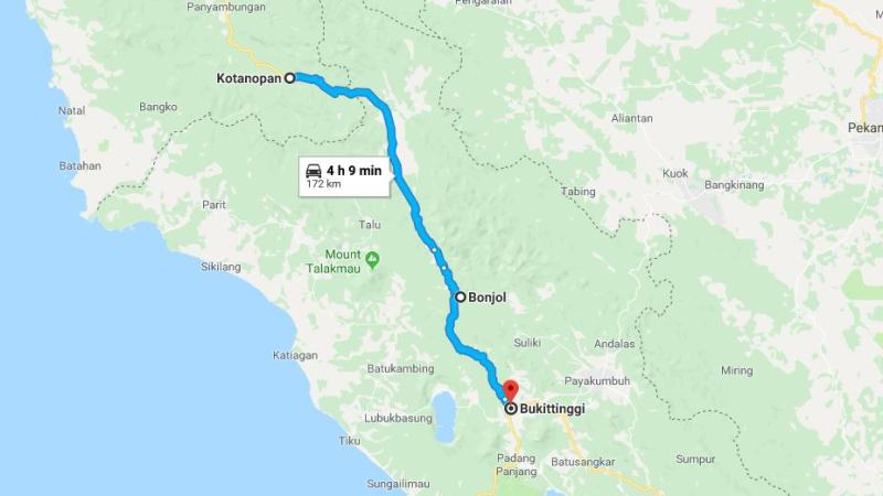 Day 10 - 17 Maret 2019 : Kotanopan - Bukittinggi (via Bonjol)