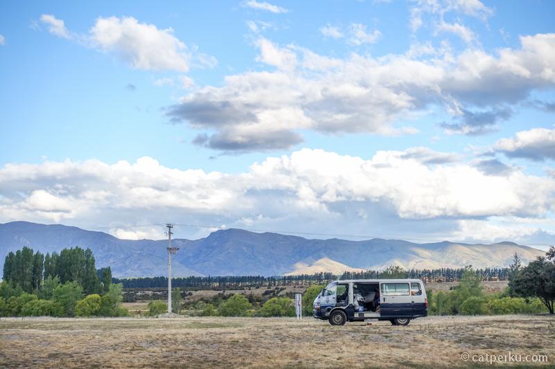Albert Town Campsite, tempat camping favorit saya yang lokasinya nggak jauh dari Wanaka.