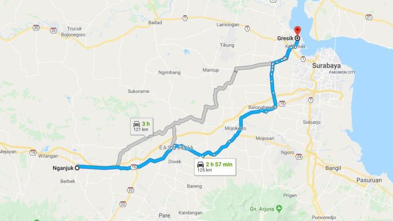 Day 30 - 6 April 2019 : Nganjuk - Gresik