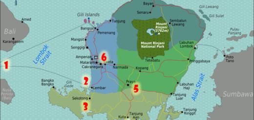 Jalur Motor Touring Lewat Lombok Selatan