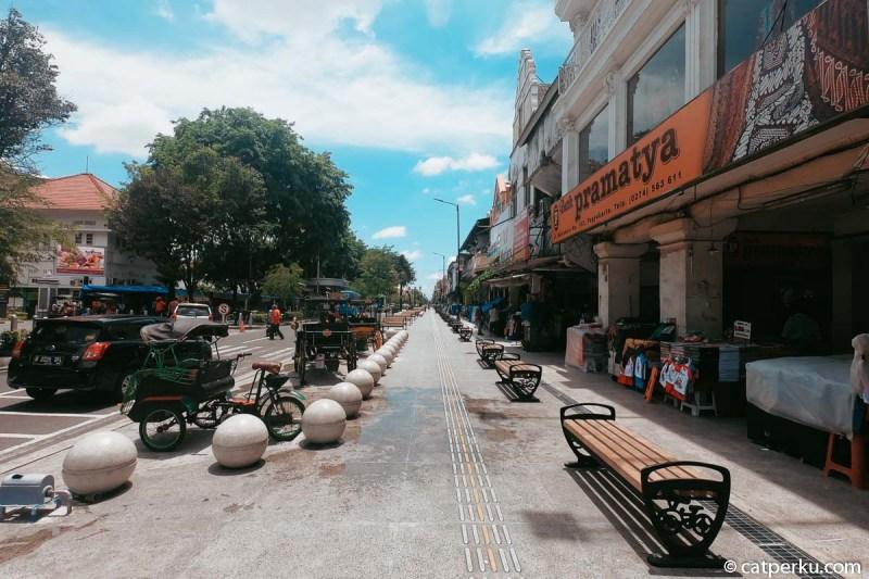 Ada banyak pilihan hotel di sekitar Jalan Malioboro untuk tempat menginap