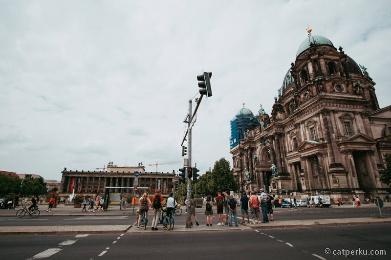 Ada banyak sekali museum dan tempat bersejarah di Berlin. Seperti ini salah satunya, Museum Island!