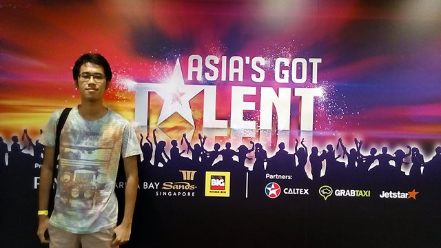 Attending Asia's Got Talent Show with Tune Hotels