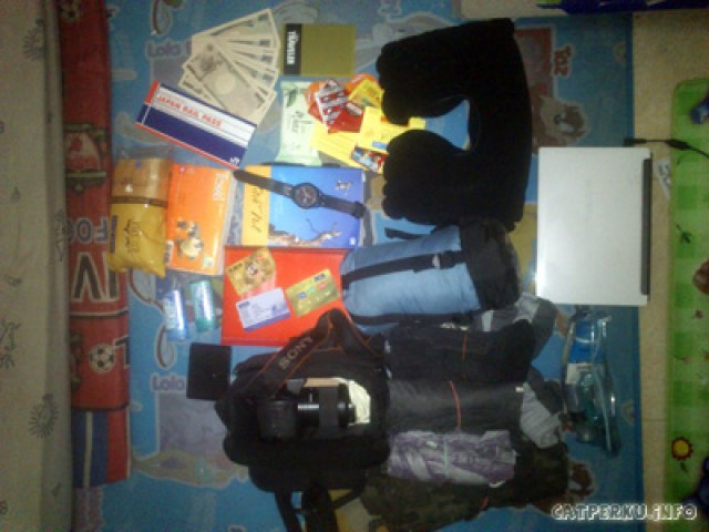 Life support selama backpacking ke Jepang 13 Hari