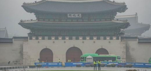 Berkunjung Ke Gyeongbokgung Palace adalah suatu keharusan kalau lagi ada di Seoul