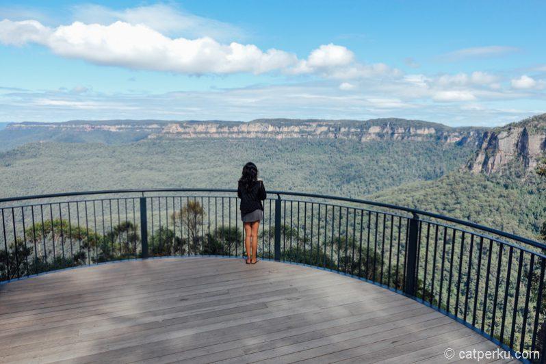 Breathtaking scenery yang bakal bisa didapat kalau main ke Blue Mountains!