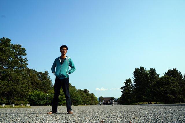 Foto di Kyoto Imperial Palace park ini wajib banget dong :)