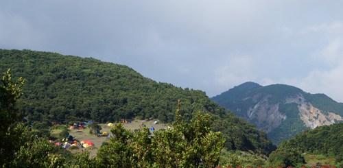 Pondok Salada terlihat dari ketinggian.