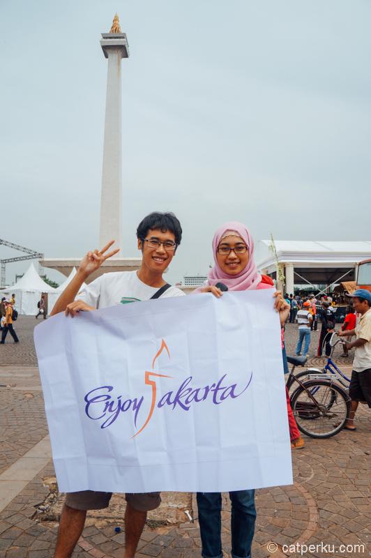 Gini-gini, saya pernah jadi turis di Jakarta kok!
