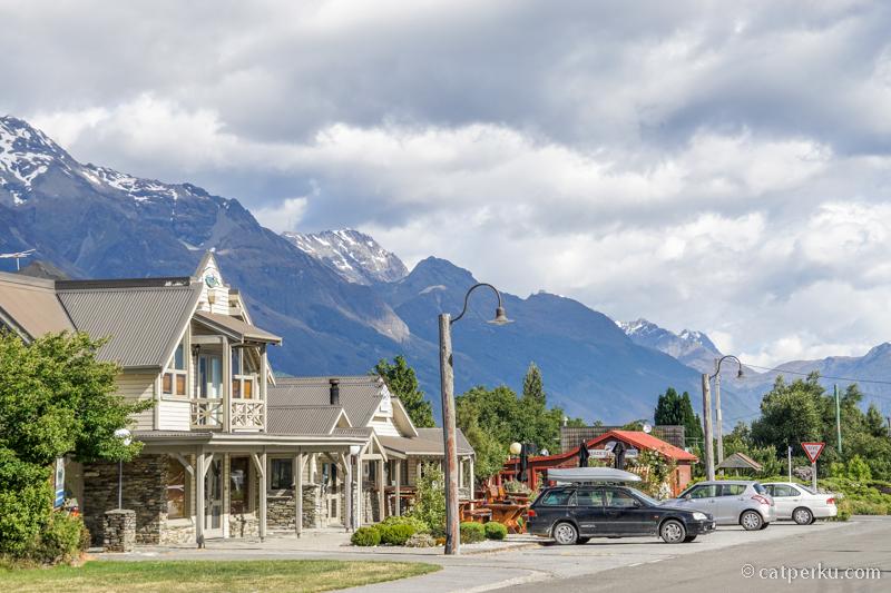 Glenorchy adalah kota favorit saya di New Zealand