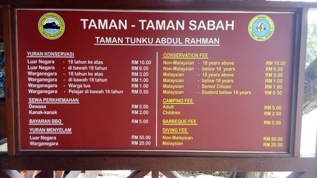 Harga tiket masuk ke Pulau Sapi.