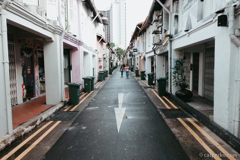 Jalan random di Singapura mungkin kamu bisa menemukan tempat wisata Singapura yang antimainstream!