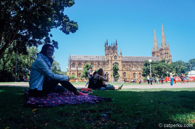 Kalau belum dapat pekerjaan, jangan stress, banyakin piknik aja~ Sydney itu kota yang sangat piknik-able kok!