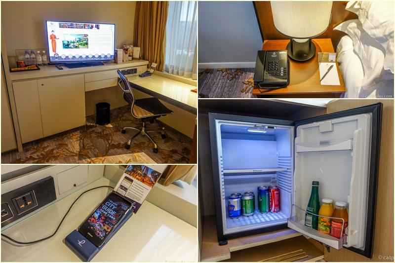Kamar yang nyaman dengan fasilitas yang wah