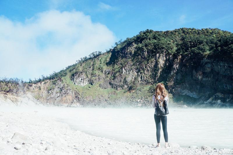 Kawah Putih Ciwidey ini adalah tempat wisata yang instagramable.