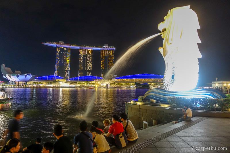Kunjungi tempat wisata gratis di Singapura saja