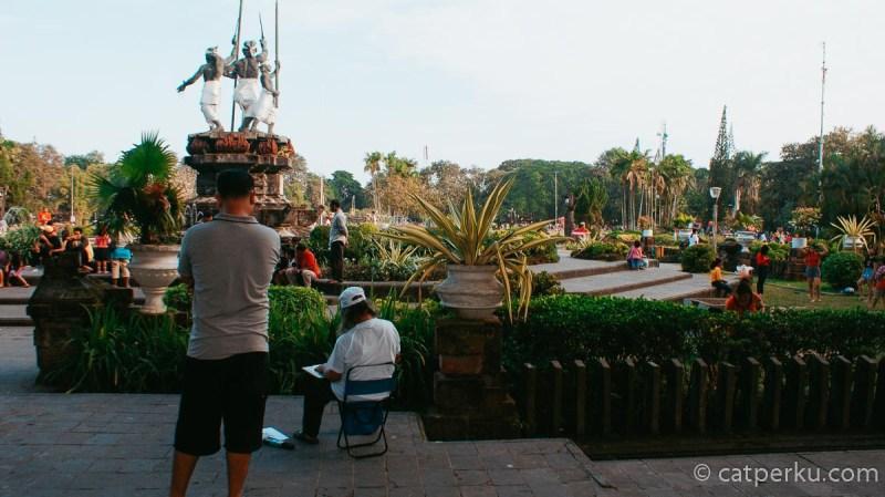 Lapangan Puputan Badung, Ruang Publik Asik Kota Denpasar!