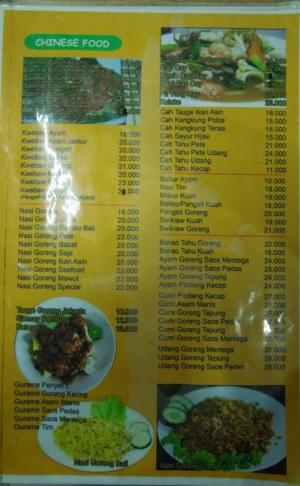 Menu resto Sunda Kelapa, Rajanya Soto khas Betawi