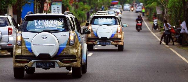 New Terios mulai menjelajah Jalanan Bali
