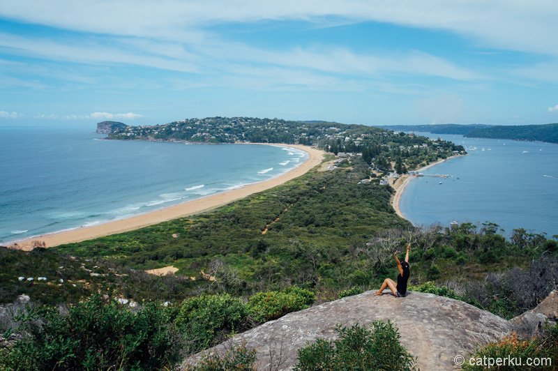 Palm Beach ini adalah salah satu pantai di Sydney yang mengingatkan saya dengan Kota Hakodate