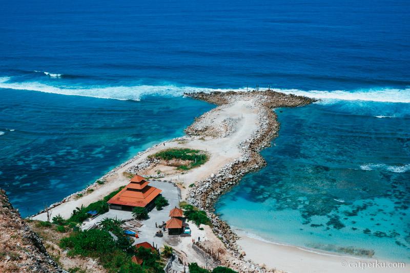 Pantai Melasti, Salah satu pantai di bali terbaru yang asik buat dikunjungi ketika liburan ke Bali