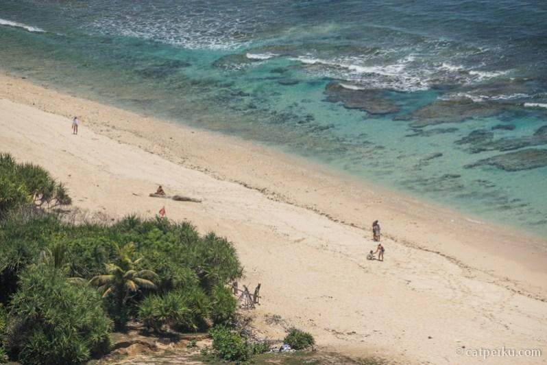 Pantai Nyang Nyang, salah satu favorit saya di Bali Selatan