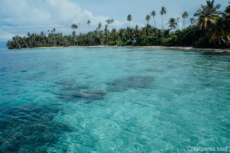Perairan di Pulau Banyak yang bikin adem mata!