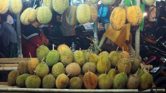 Pontianak bisa dibilang salah satu surga Durian di Indonesia