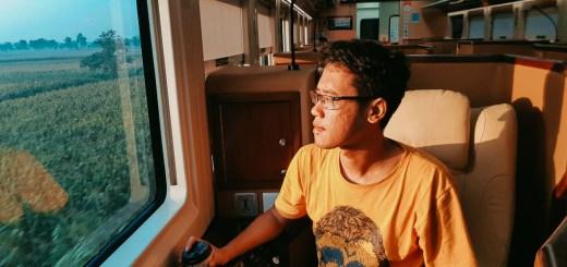 Review Kereta Api Gajayana Luxury, Sleeper Seat Train Pertama Yang Lewat Jalur Selatan!