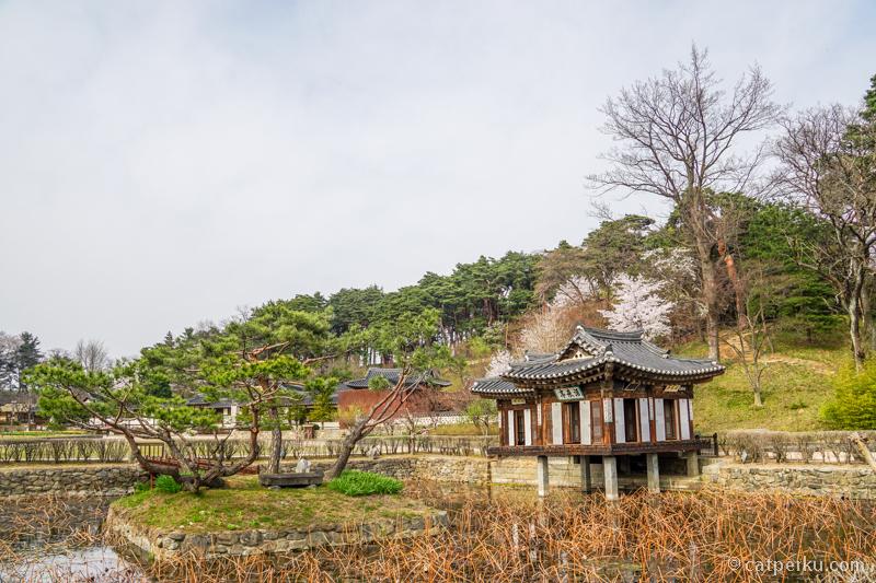 Salah satu rumah pejabat di Korea jaman dulu