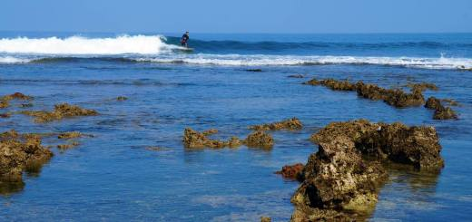 Sawarna Beach, The Next Kuta Di Jawa