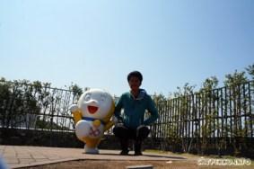 Saya dengan Dorami :D