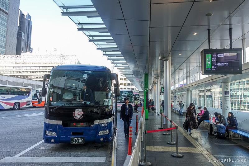 Shinjuku Bus Express Terminal