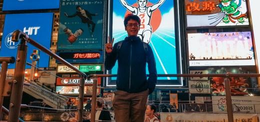 Spot foto wajib kalau lagi main ke Dotonbori di Osaka!