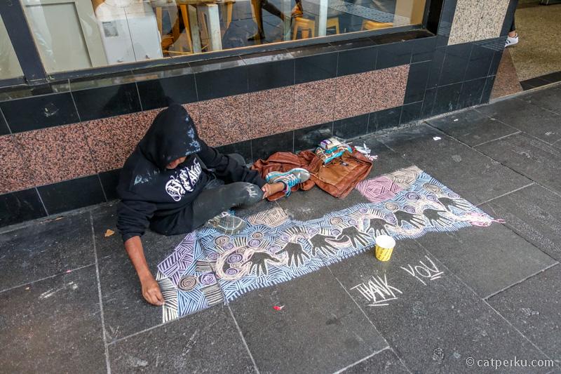 Street Arts di Melbourne CBD