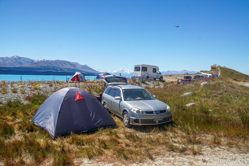 Tak perlu waktu lama untuk memutuskan camping disini