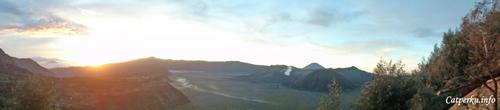 Pananjakan, sunrise view point kawasan Bromo