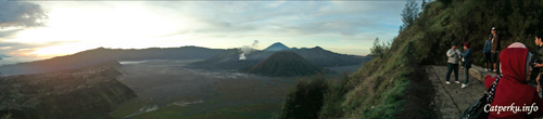Sunrise attack! Bromo!