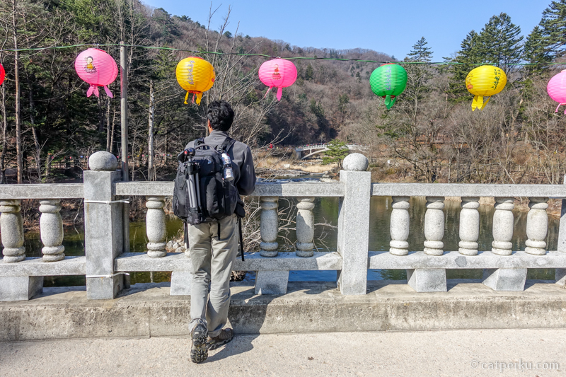 Tas kamera Kalibre Shooter Pro saya bawa ke Korea Selatan