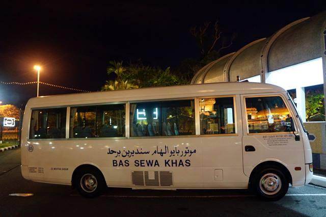 Transportasi gratis untuk masyarakat Brunei.