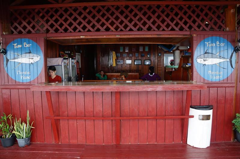 Tuna Bar, Maratua Paradiser Resort