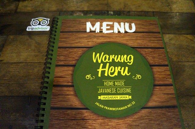 Warung Heru adalah salah satu cafe di Prawirotaman denga menu Indonesia sebagai andalannya.
