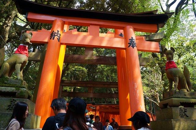 Yang paling mahal adalah Torii Gate berukuran besar seperti ini.