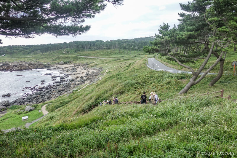 Yok kita trekking! Liburan musim panas di Jepang paling asik memang trekking sih! Next time kesini, bakal cobain seluruh jalurnya sepanjang 700 km itu!