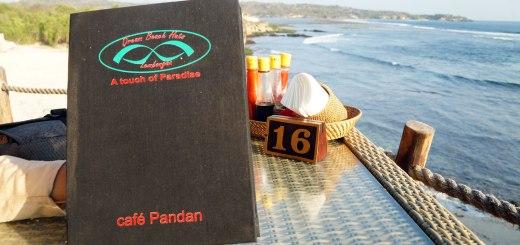 Berduaan Di Cafe Pandan Nusa Lembongan.
