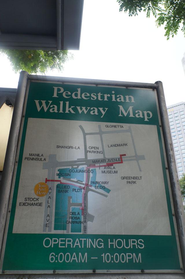 Filipina punya trotoar yang luas, udah punya underpass pulak! Jakarta?