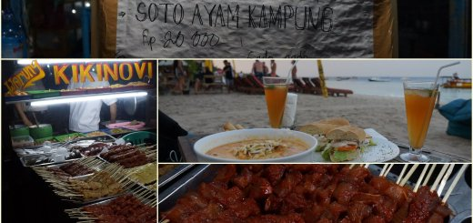 Gili Trawangan Expensive Paradise for local