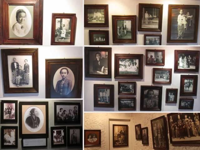 Koleksi foto Gusti Nurul di ruang Ruang Putri Dambaan. *foto minjem dari facebook page Museum Ullen Sentalu*