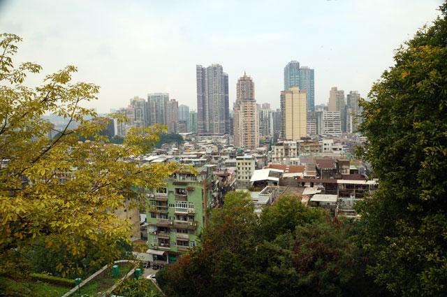 Mount Of Fortess memang tempat yang strategis untuk mengamati seluruh Macau dari ketinggian