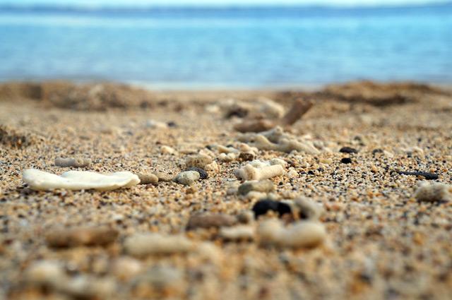 Pasir pantainya asik buat jalan kaki.